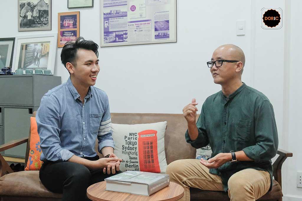 Phỏng vấn KTS Phạm Thanh Truyền tại Doric